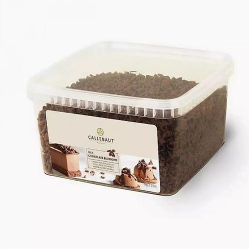 Шоколадные завитки Callebaut молочные 1кг