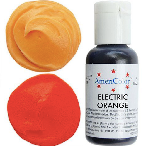 Краситель гелевый AmeriColor Electric Orange, 21 гр.