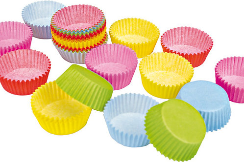 Бумажные формы для выпечки кексов в ассортименте
