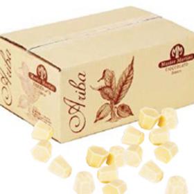 Шоколад белый Ariba Bianco Dischi 1 кг., Италия