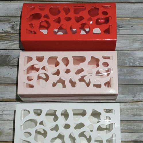 Коробка для макаронс 4 ячейки