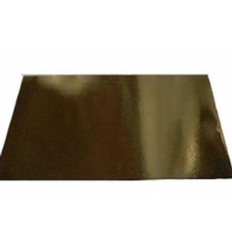 V9L09474 Подложка картон золото Plate 36х36