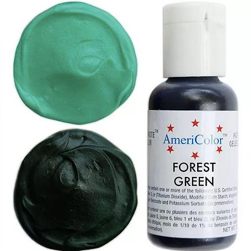 Краситель гелевый AmeriColor Forest Green, 21 гр.
