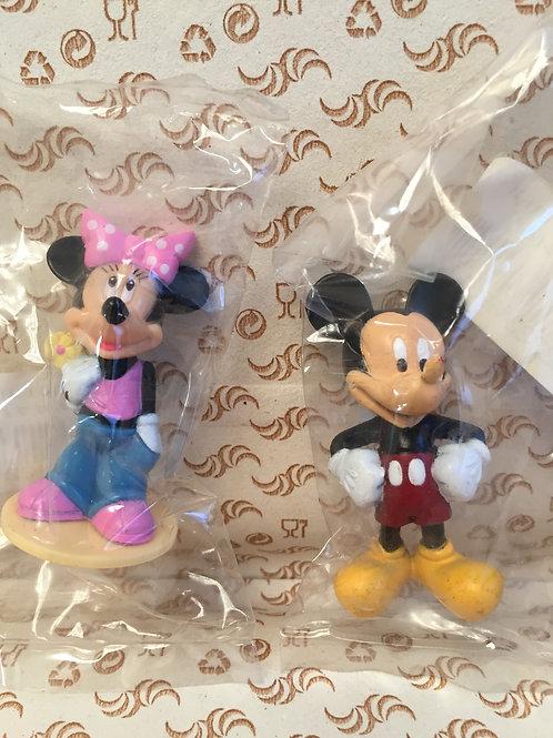 "Пластиковые фигурки ""Микки, Мини"", в ассортименте, шт."