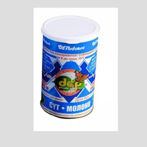 Молоко сгущенное с сахаром ДЕП 600гр. 8,5% ж/б