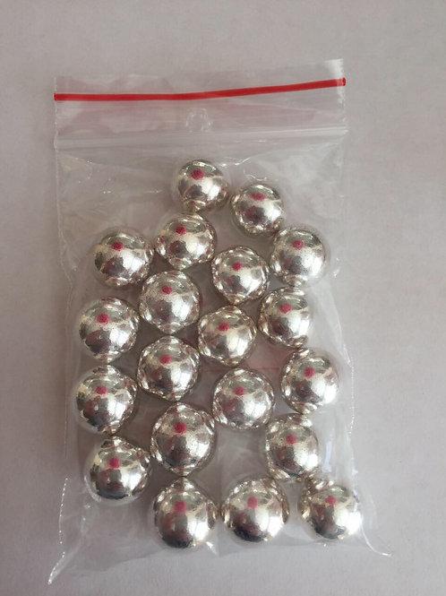 Жемчуг серебро №3, №5, №7,  50 гр.