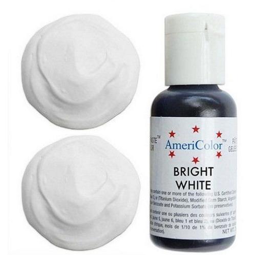 Краситель гелевый AmeriColor Bright White, 21 гр.