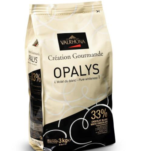 Белый шоколад Opalys Valrhona 33% 250гр