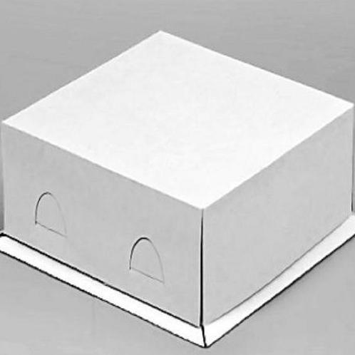 Упаковка для тортов Pasticciere хром-эрзац EB190ХЭ белый 300*300*190