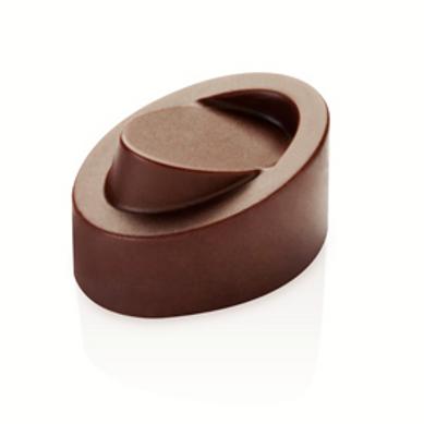 Форма для конфет ПРАЛИНЕ овал размер 32x23x19, объем: 21 ячейка по 10 мл, Pavoni