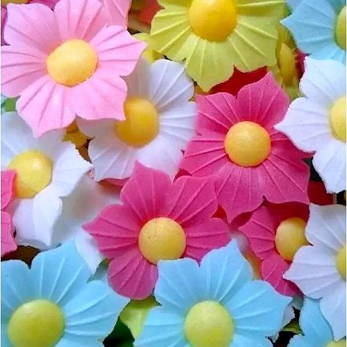 """Вафельные цветы """"Нарцисс микс"""" 200шт/упак"""