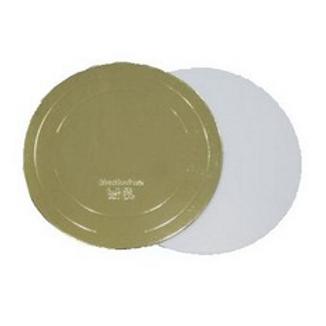 GWD240 (3,2) Подложка усиленная золото/жемчуг d24 h3,2