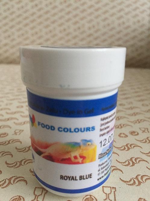 Краситель гелевый Food Colours, королевский синий,  35 гр., Польша