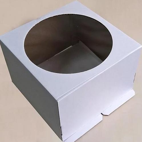EB350(400*400 окно)Упаковка для тортов Pasticciere 400*400*350 С ОКНОМ