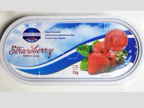 12222 Пюре клубничное заморож. Master Frigo, Сербия, 1кг