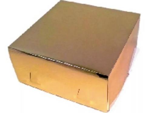 XG140GOLD Упаковка для тортов Pasticciere Хром-Эрзац ЗОЛОТО 280*280*140