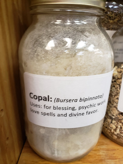 White Copal by the ounce
