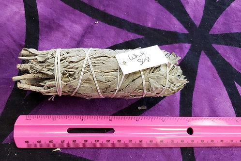 "5.5"" White Sage smudge stick"