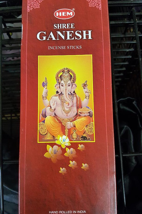 Ganesh Hex Pack Incense