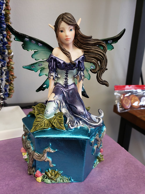 Purple fairy box