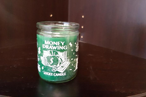 50 Hour Money Drawing Candle