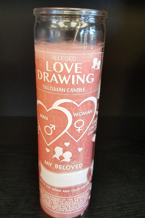 Love Dawing 7 Day Candle