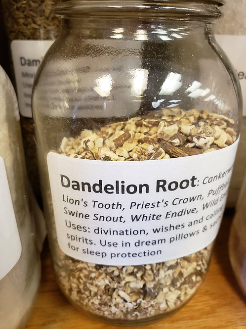 Dandelion Root by the ounce