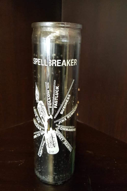 SpellBreaker 7 Day Candle