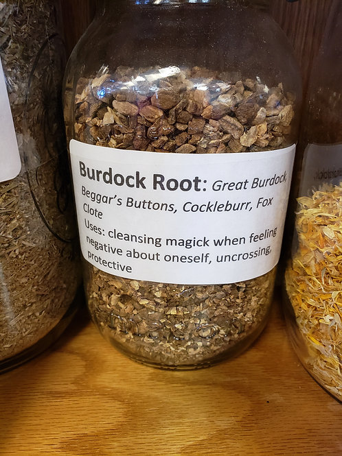 Burdock Root by the ounce