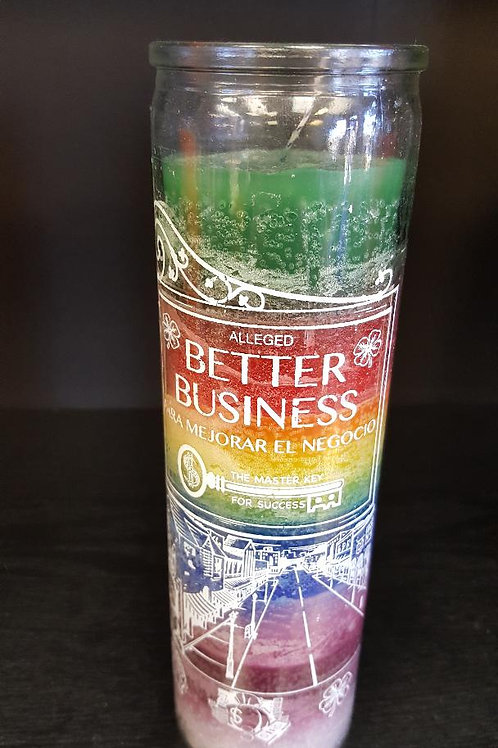 Better Business Seven Day Candle