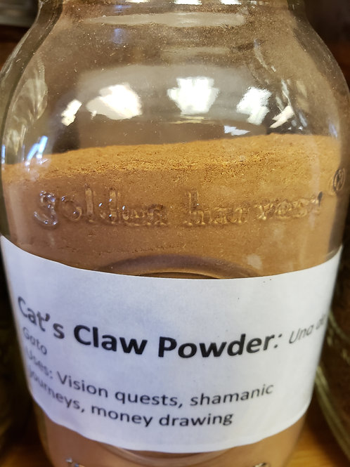Cats Claw Powder by the ounce