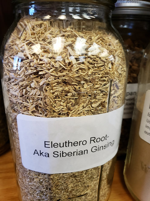 Eleuthero Root by the ounce