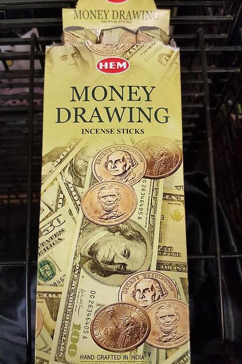 Money Drawing Hex Pack Incnese