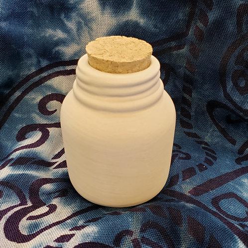 """Mason jar potion bottle 3""""x2"""""""