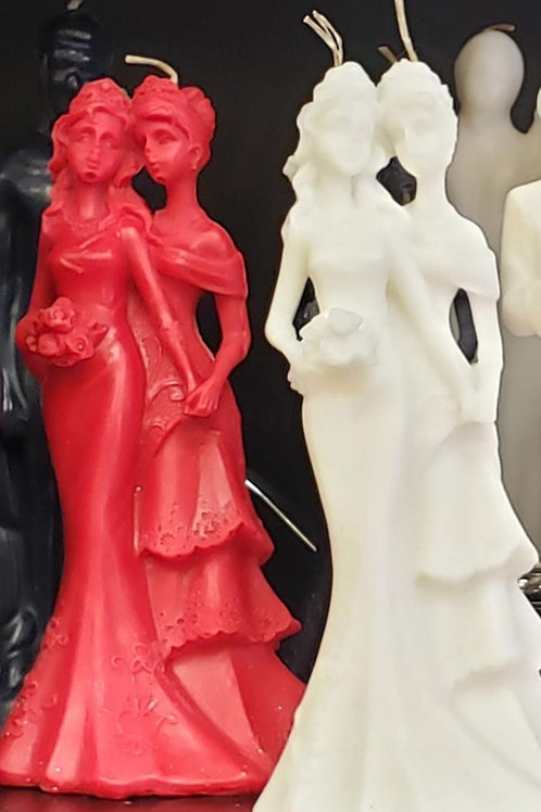 Female Couple Candles