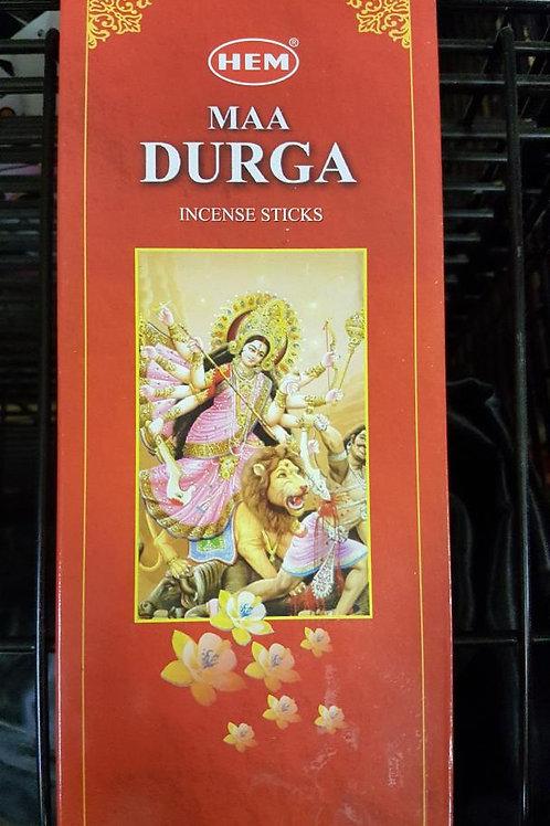 Maa Durga  Hex Pack Incense