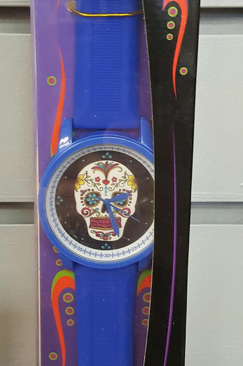 Blue Day of the Dead Watch