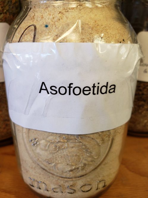 Asofetida by the ounce