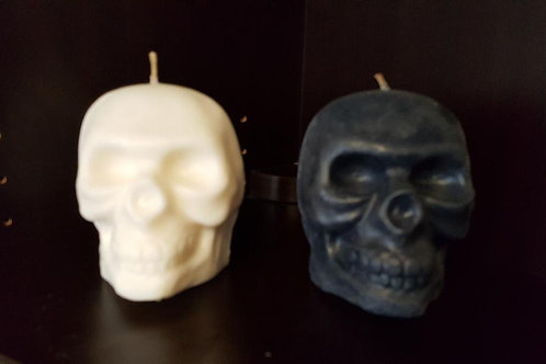 Large Skull Candles