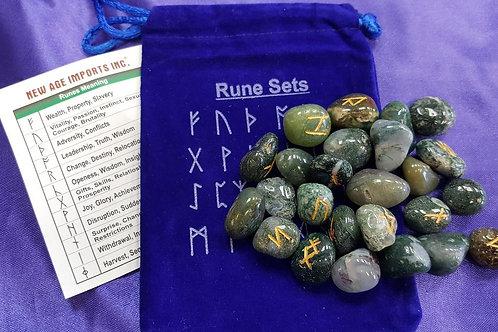 Moss Agate Runes