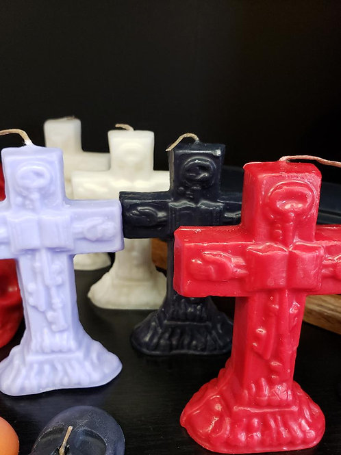 """4"""" Small Cross Candles"""