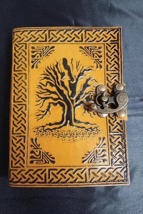5x7 Yellow Tree of Life Journal