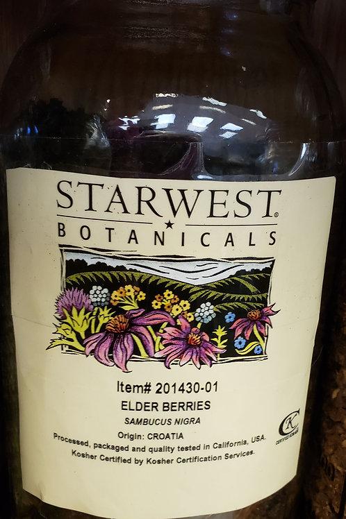 Elderberries by the ounce
