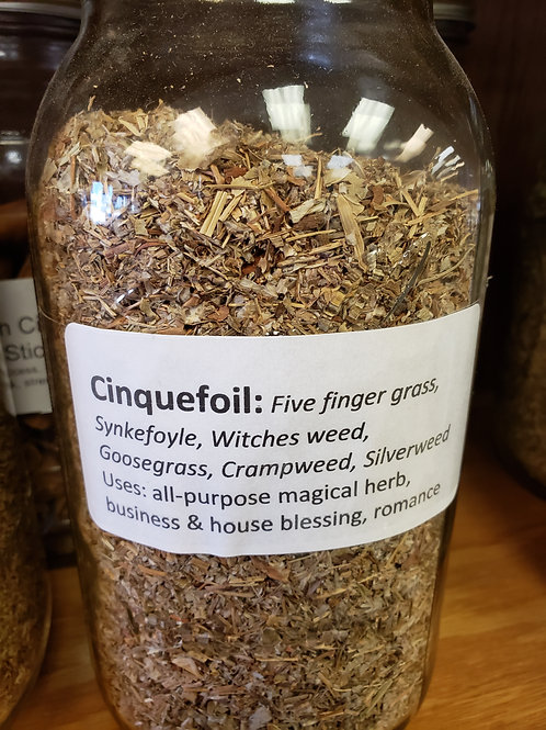 Cinquefoil by the ounce