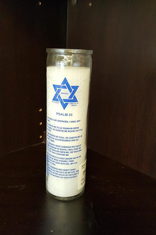 Psalms 23 7 Day candle