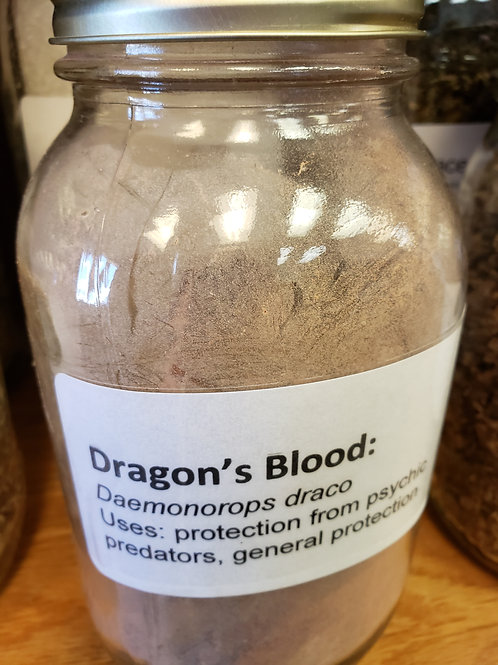 Dragon's Blood resin by the ounce