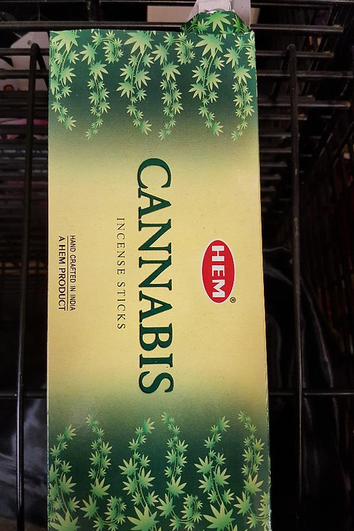 Cannabis scented hex pack Incense