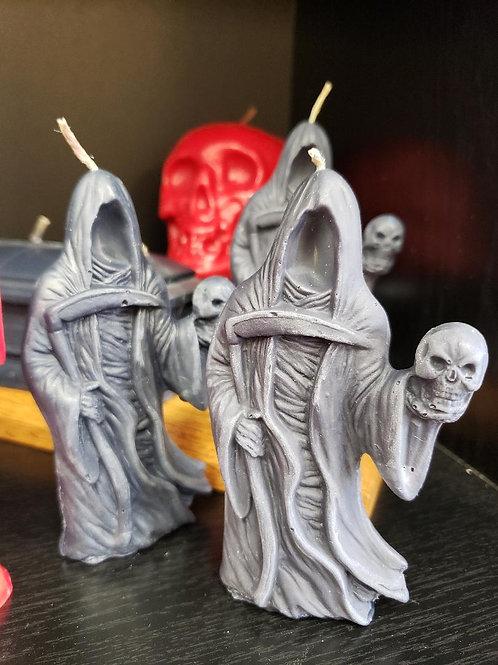 "4.5"" Black Grim Reaper Candle"