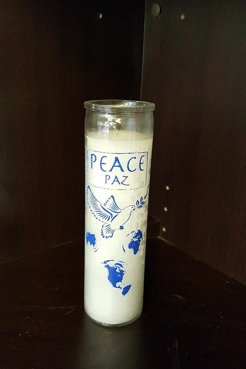 Peace 7 Day candle