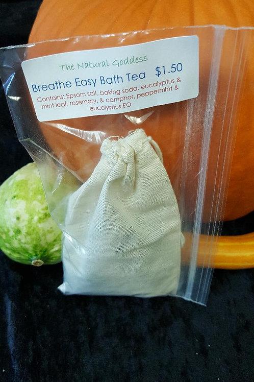 Breathe Easy Bath Tea